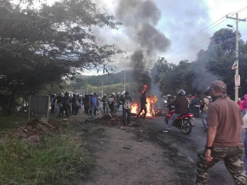 Proclama por una Honduras unida contra la dictadura