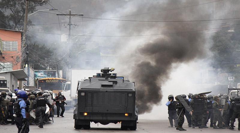 El fraude electivo en Honduras sigue a  décadas de corrupción financiadas por la guerra de los EE.UU contra las drogas