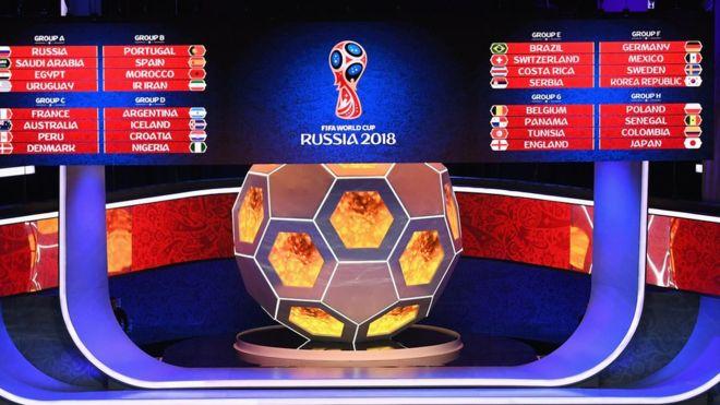 Conoce cómo se distribuyen los grupos del Mundial Rusia 2018