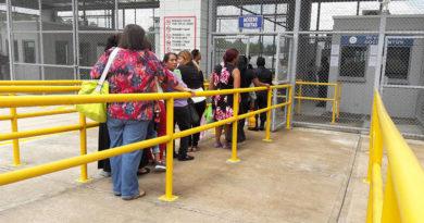 Gobierno suspende visitas en cárceles de máxima seguridad durante el fin de semana