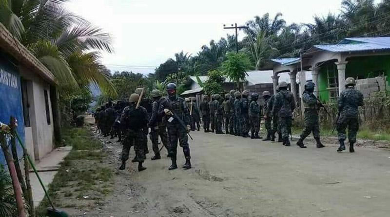 Militares y policías invaden el departamento de Colón y desatan fuerte persecución contra manifestantes