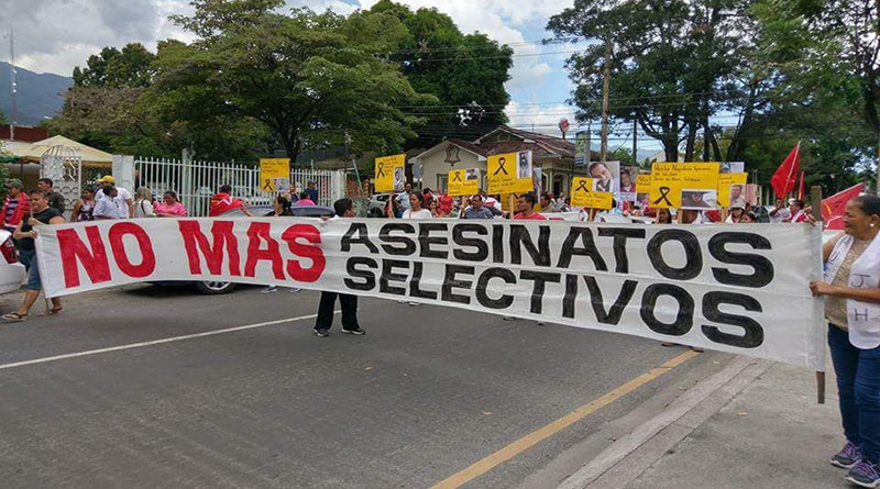 Oposición Honduras