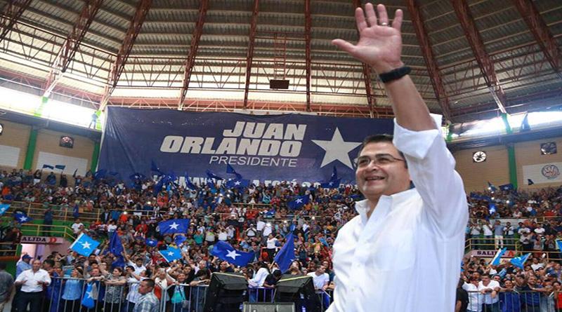 Honduras: Hernández inició hoy la campaña política para las elecciones del 2021 (VIDEO)