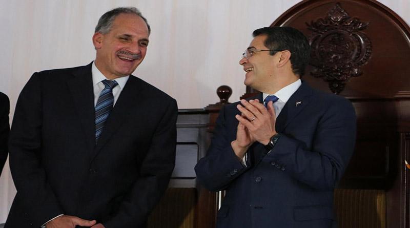 Juan Hernández sustituirá a Nasry Asfura