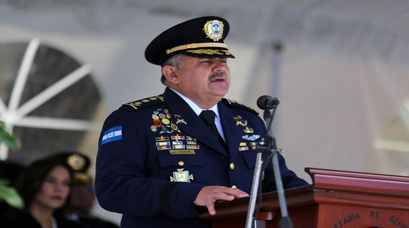 Jefe de la policía de Honduras ayudó a un capo a entregar 780 kilos de cocaína
