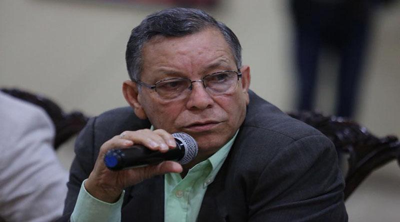 Lucas Aguilera, presidente de la Democracia Cristiana