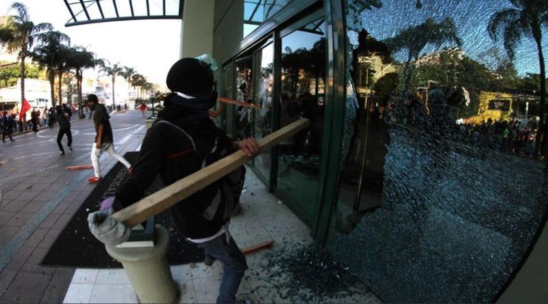 ¿Por qué la chepa tenía sus barricadas antes del hotel Marriot?