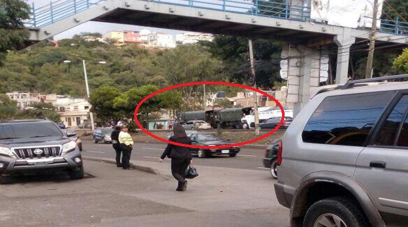 Militares de Honduras continúan en franca violación de los derechos humanos