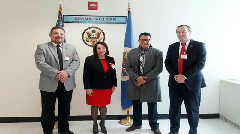 ONGs afines a JOH hacen lobby en USA para blanquear el fraude y posesionar el diálogo