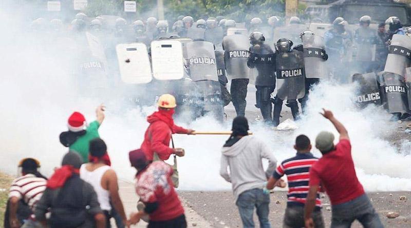 Organizaciones y guatemaltecos se solidarizan con Honduras en su lucha contra el fraude