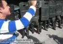 Nasralla acude a manifestación y graba imágenes de la masiva militarización (VIDEO)