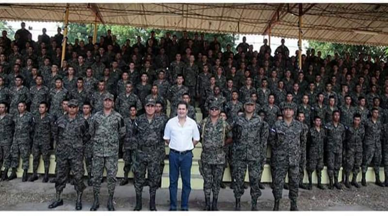 desmilitarización en Honduras