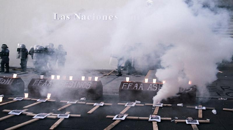 Representante de la ONU en Honduras condena represión militar y policial contra manifestantes