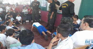 Militares invaden centros educativos para imponer programa Guardianes de la Patria