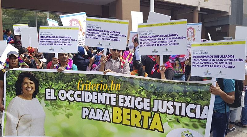 Defensoras de la Madre Tierra a dos años de asesinato de Berta Cáceres exigen avances en la investigación