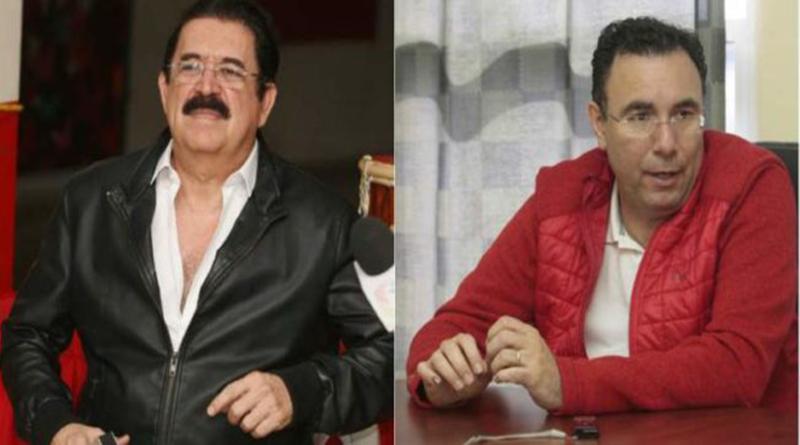 Mel y Luis Zelaya