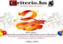 Celebrando el «Gran Hito» en el Periodismo Hondureño: Criterio.hn