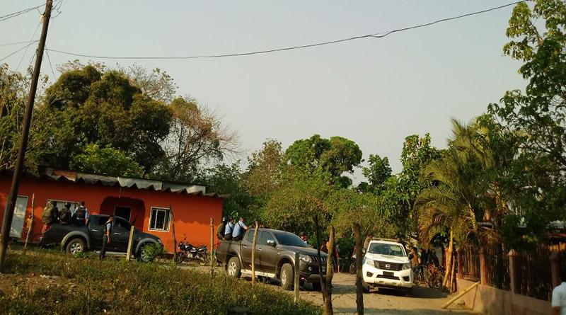 Policía militar captura a Dirigente del MUCA en el Aguán