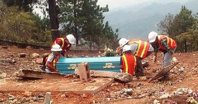 Denuncian que MINOSA pretende exhumar cadáveres en busca de oro