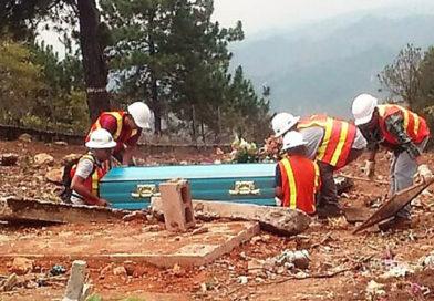 Minosa insiste con explotar cementerio en La Unión, Copán