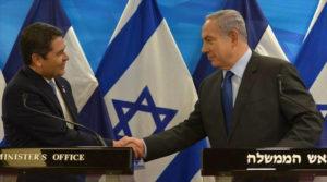 embajada de Honduras a Jerusalén