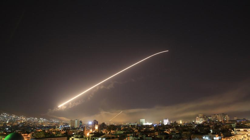 Ejército sirio derriba 13 misiles de EE.UU. y sus aliados