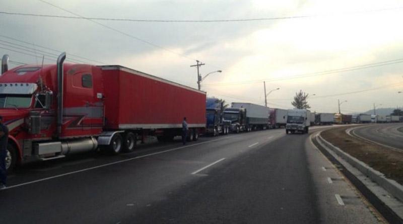 Paro de Transportistas de carga continúa en Honduras