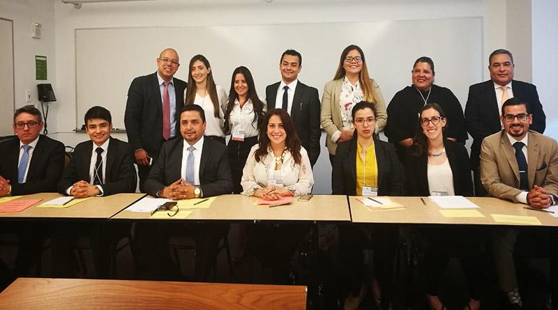 Estudiantes y docentes de Ciencias Jurídicas de la UNAH participan en concurso interamericano de derechos humanos