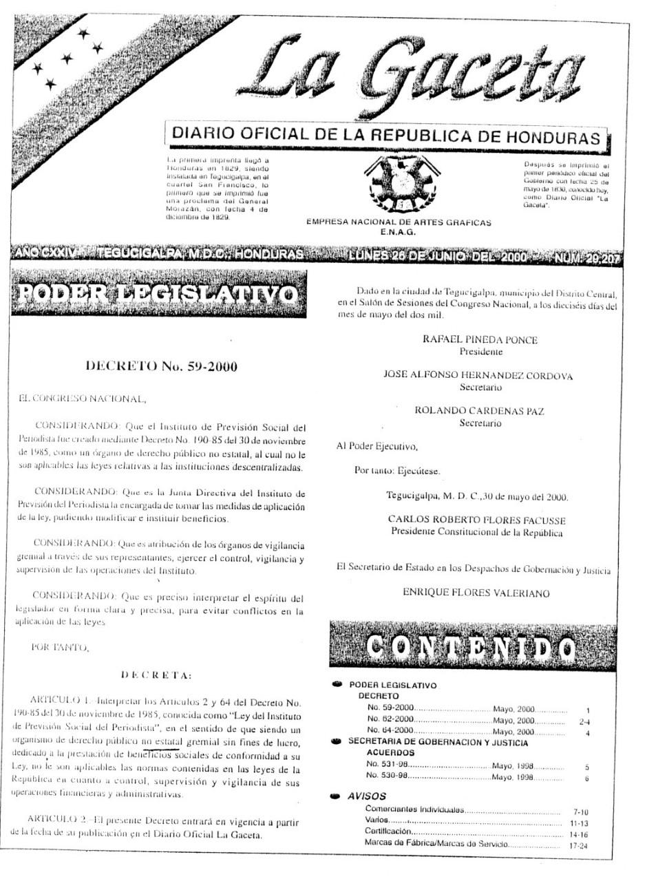 Colegio de Periodistas de Honduras