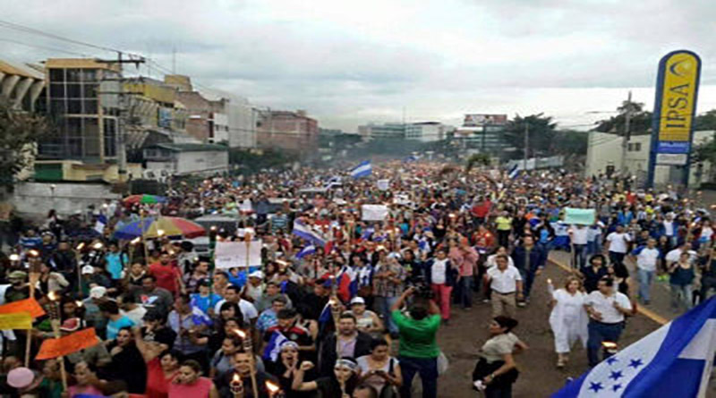 La rendición de Honduras
