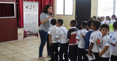 CNA promueve capacitación para niños en temas de valores