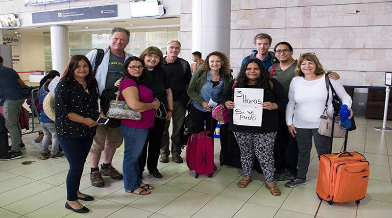 Delegación canadiense-estadounidense viene al país para exigir libertad de Edwin Espinal