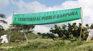 garífunas demandarán al Estado