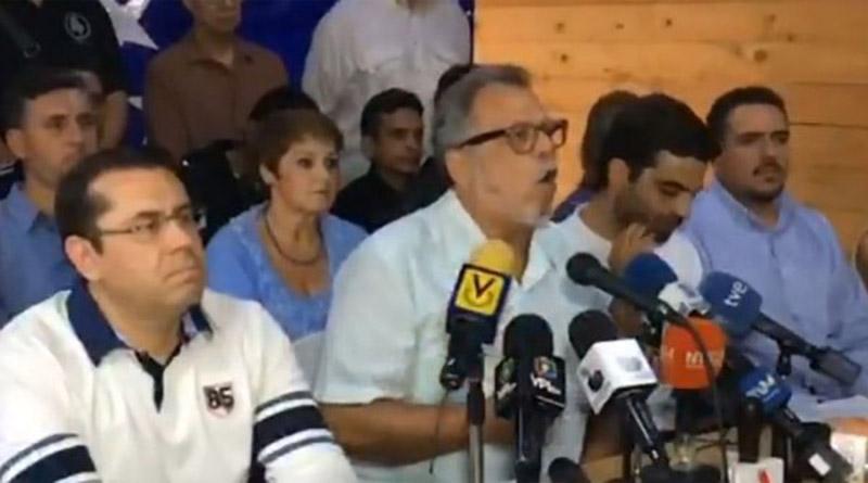 Oposición venezolana afirma que solo voto el 30% de la población