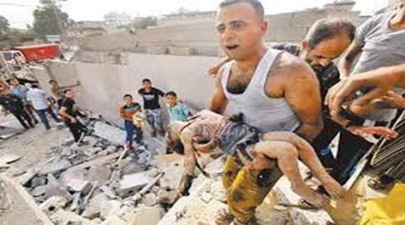 Decenas de niños palestinos son asesinados por Israel