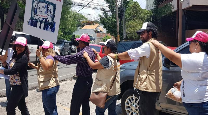 periodistas en Honduras