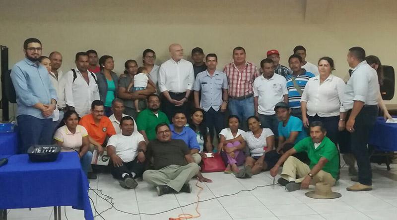 Organizaciones del Bajo Aguán se reúnen con el relator de las Naciones Unidas, Michael Forst