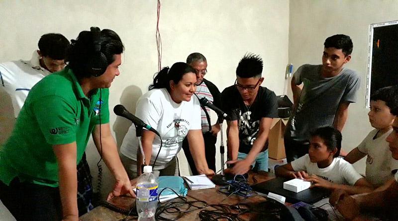 CNTC inaugura radio comunitaria en Potrerillos, Cortés