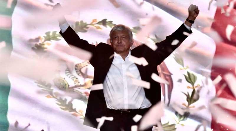 El izquierdista Andrés Manuel López Obrador se perfila como el ganador de las elecciones de este domingo en México