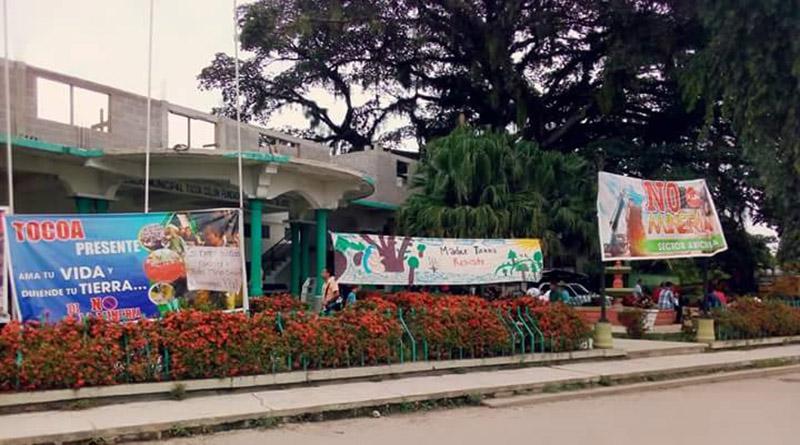 Pobladores de Tocoa, Colón siguen esperando a la corporación para declarar el municipio libre de minería