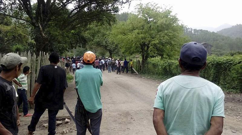 Institucionalidad hondureña se llama al silencio ante inminente desgracia del pueblo Tolupán