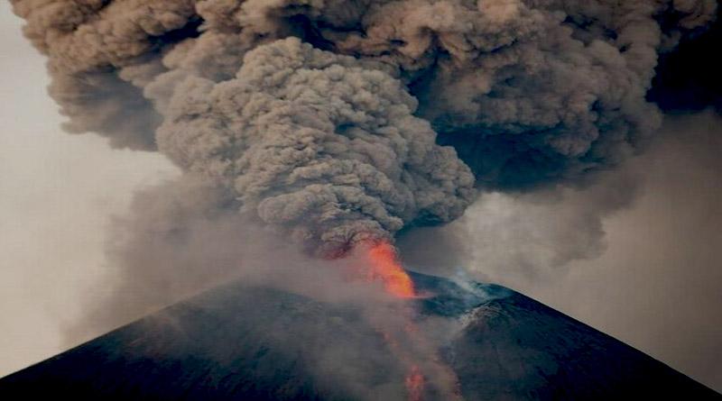 Registran explosión en volcán Telica de Nicaragua