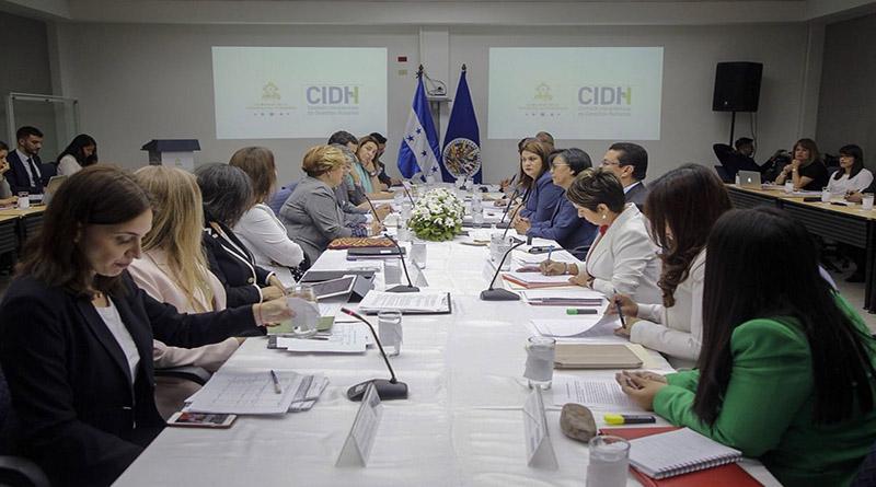 CIDH e Instituciones de DD.HH de Honduras, Guatemala y El Salvador firman compromiso para Cooperación Técnica