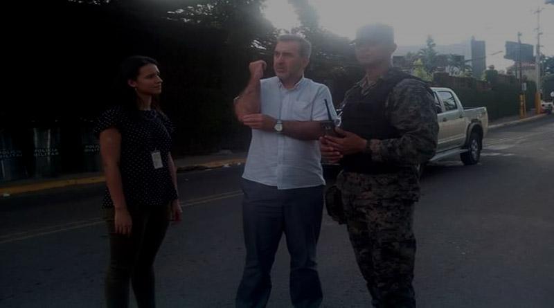 Honduras: Relator de libertad de expresión interviene para que periodista pueda informar
