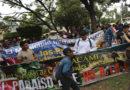 """""""No queremos mineros en Honduras"""", gritan pobladores en Tegucigalpa"""