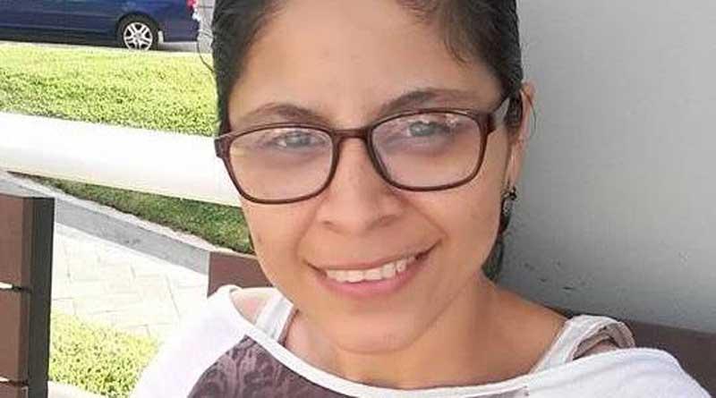 mujer había desaparecido en Tegucigalpa