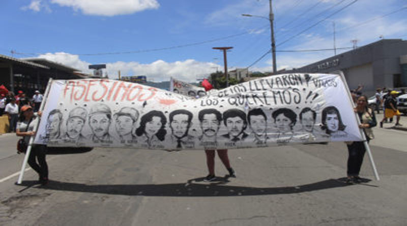 década de los 80 en Honduras