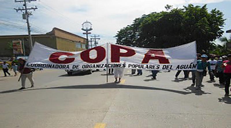 Situación en Tocoa es tensa por amenazas estatales y de compañía minera de yerno de Miguel Facussé