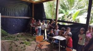 padres de familia de Honduras