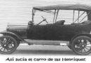 El primer carro de Juticalpa, Olancho